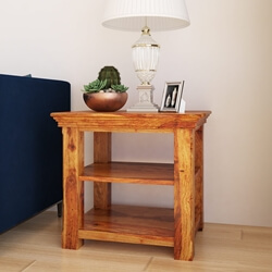 Oklahoma Farmhouse Three Tier End Table
