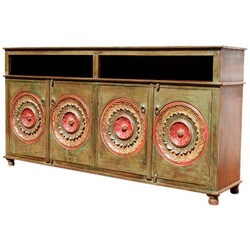 Arizona Rose Dining Room Sideboard Buffet Storage Cabinet