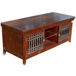 Philadelphia Solid Wood Rustic TV Media Console