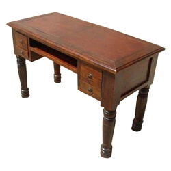 Solid Wood Drawer Hall Computer Console Side Table Desk