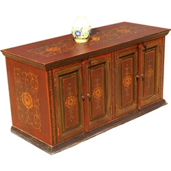 Yellow Rose Sideboard Buffet Cabinet Credenza Cupboard