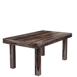 Solid Wood Dallas Ranch Rectangular Dining Room Table