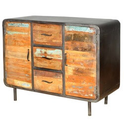 Reclaimed Wood & Iron 1950