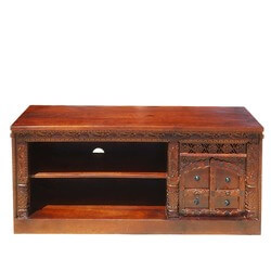 "New Delhi Snowflake 55"" Long TV Media Stand"