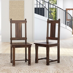 Nottingham Solid Wood Hand Carved Dining Chair