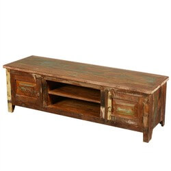 "New Memories Reclaimed Wood 59"" Rustic Media Console"
