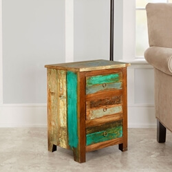 Paint Box Reclaimed Wood Mini Chest of Drawers