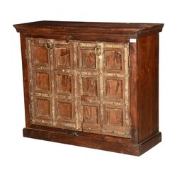 "Simply Gothic Reclaimed Wood 46"" Buffet Freestanding Cabinet"