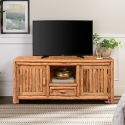 Philadelphia Cedar Lumber Media Console TV Stand