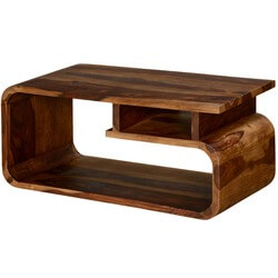 Big G Contemporary Solid Wood TV Console Media Island