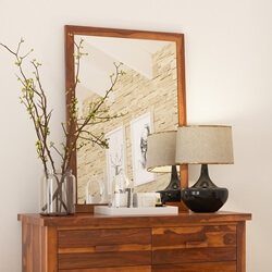Delaware solid wood Wall Mirror