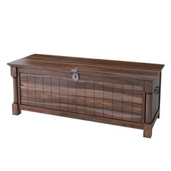 "Pioneer Transitional Solid Wood Standing 52"" Bedroom Trunk"