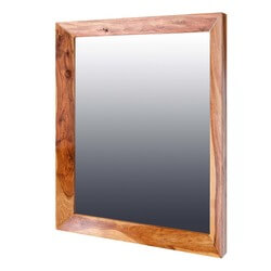 "Classic Shaker Solid Wood 29"" by 39"" Mirror"