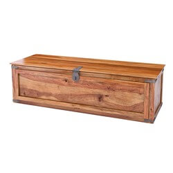 "Classic Shaker Solid Wood 48"" Bedroom Linen Chest"