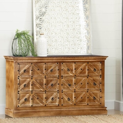 "Palazzo 65"" Farmhouse 6-Drawer Rustic Storage Dresser"