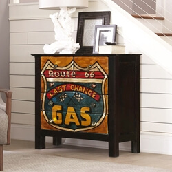 Route 66 Mango Wood 4 Drawers Accent Chest