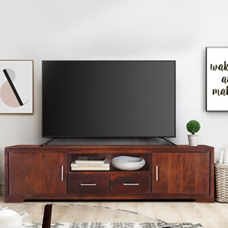Baltimore Two Drawer Solid Wood TV Media Console