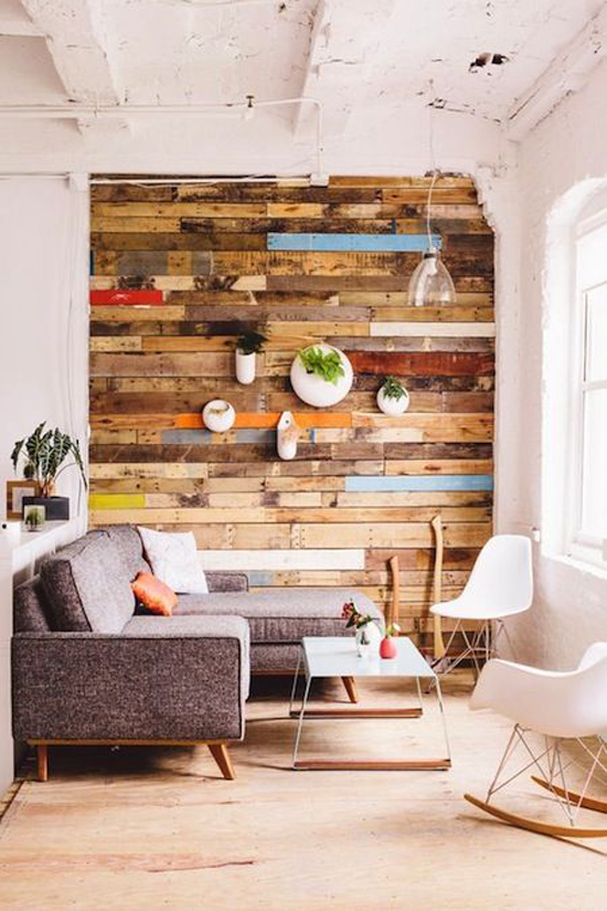 Reclaimed Wood Living Room