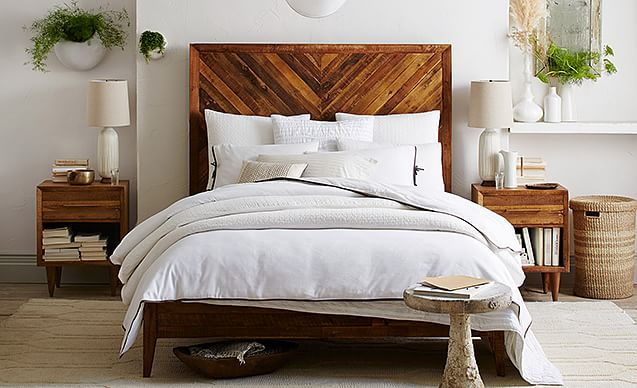 Reclaimed Wood Bed Room