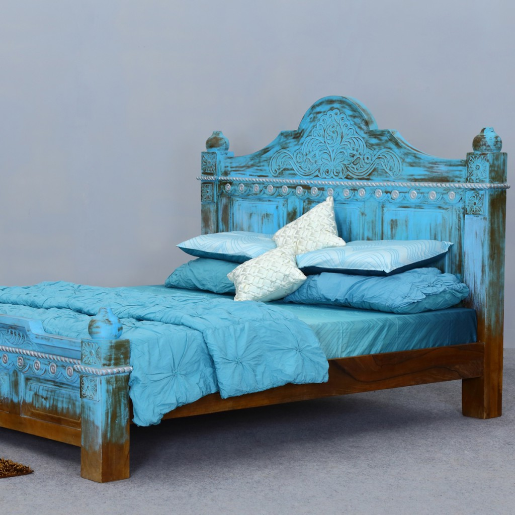 platform-bed-empire-blue-dawn-solid-mango-wood-hand-carved