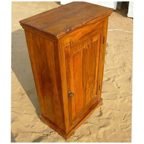 Wooden Kitchen storage Chest Cabinet Side End Tea Table