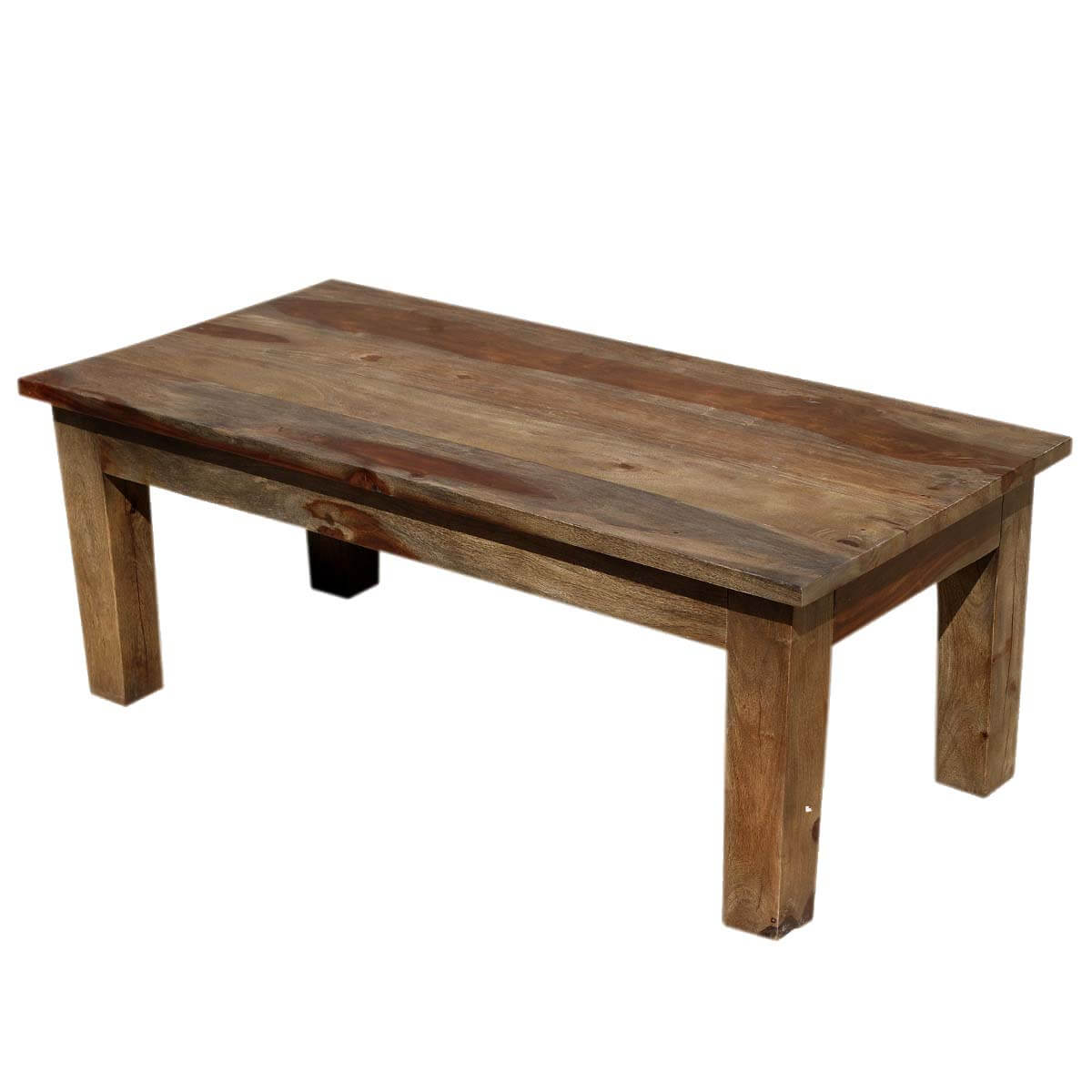Santa Fe Simple Solid Indian Rosewood Coffee Table