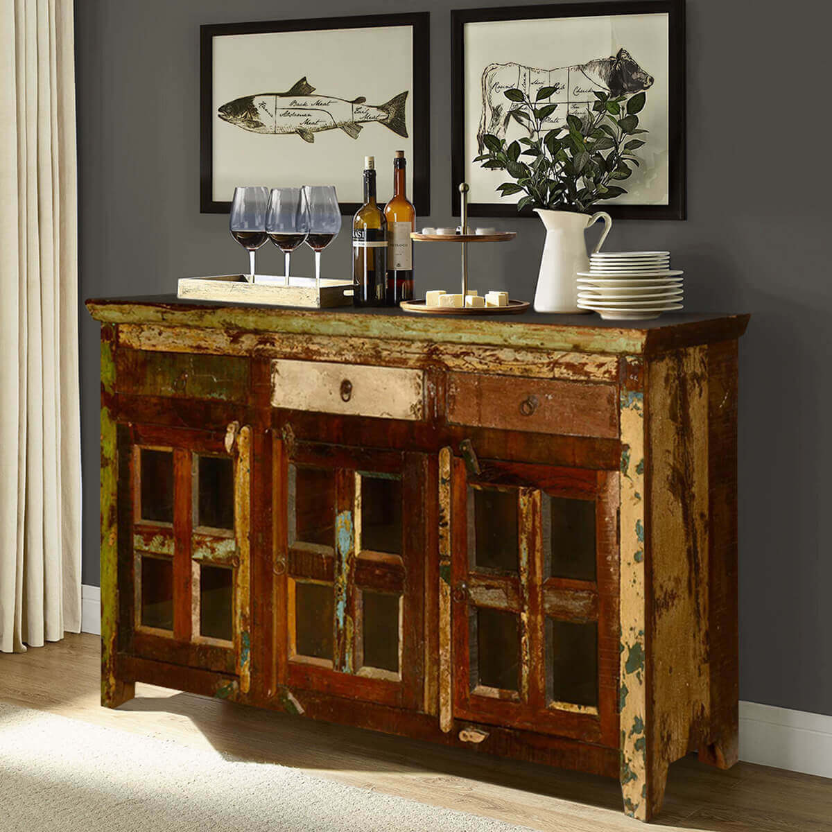 Buffet and sideboards for