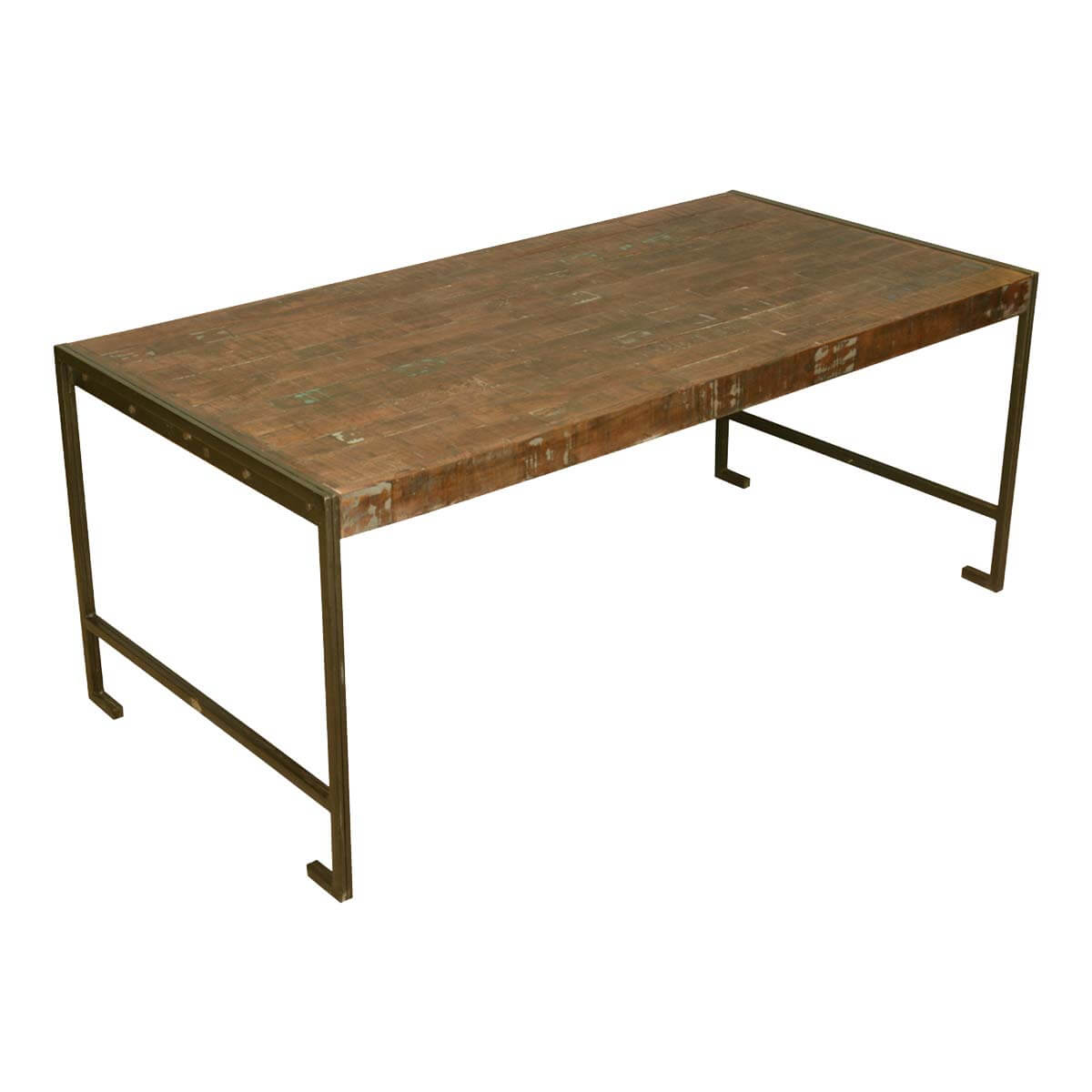 Philadelphia modern rustic reclaimed wood industrial for Rustic dining table