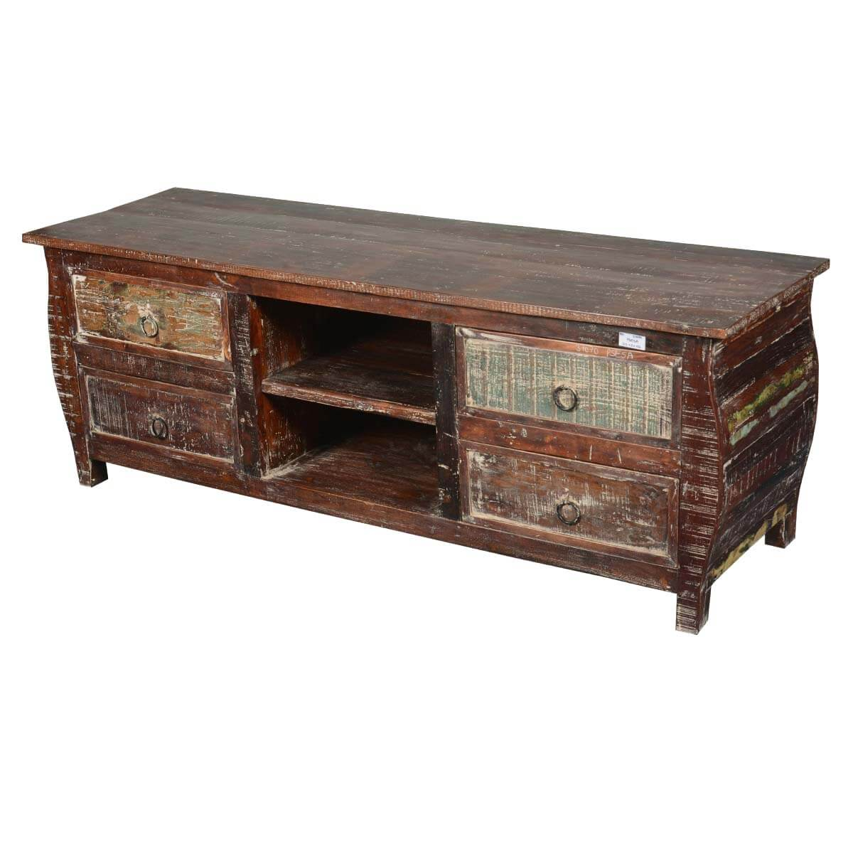 Rustic Cabin Reclaimed Wood Kettle Base Tv Cabinet Media. Powder Room Designs. Waterfall Desk. Petrified Wood Coffee Table. Convertible Sectional. Velvet Tufted Dining Chairs. Feng Shui Rules. Old World Decor. Gray Ceiling Fan