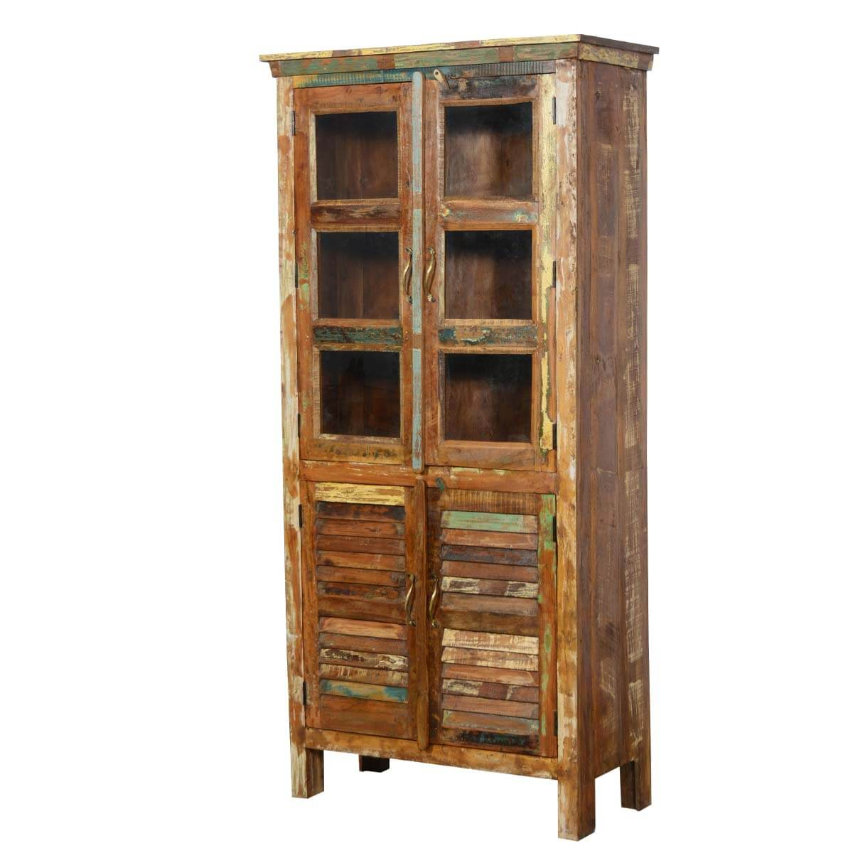 appalachian reclaimed wood rustic bedroom armoire wardrobe
