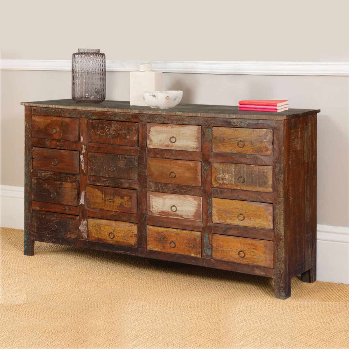 reclaimed wood dresser images