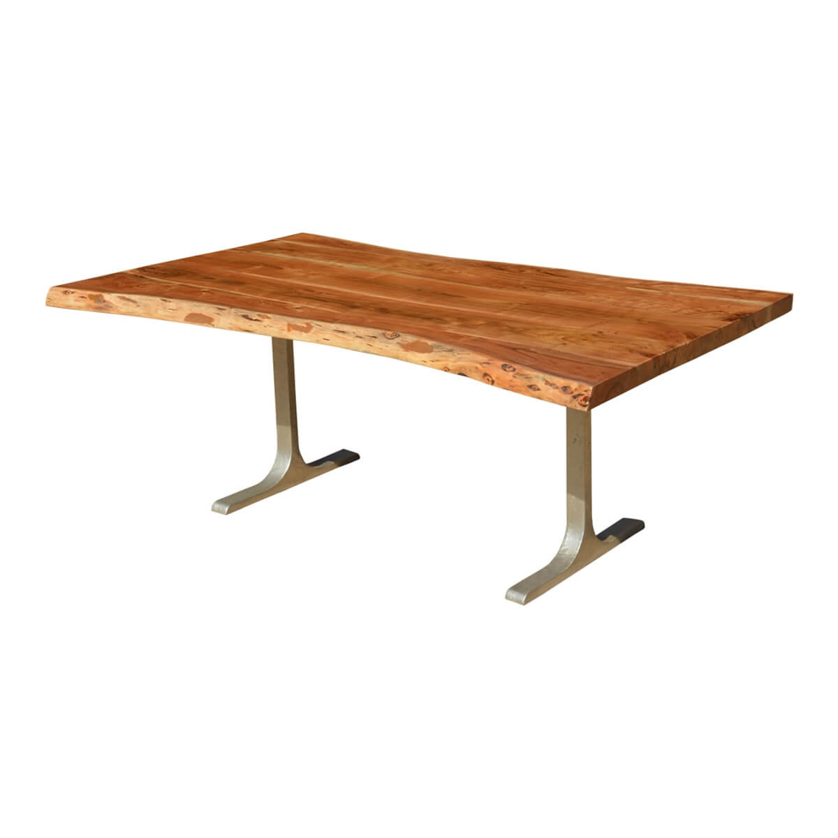 Solid Wood amp Iron Base Santa Fe Live Edge Dining Table : 6998 from www.sierralivingconcepts.com size 1200 x 1200 jpeg 159kB