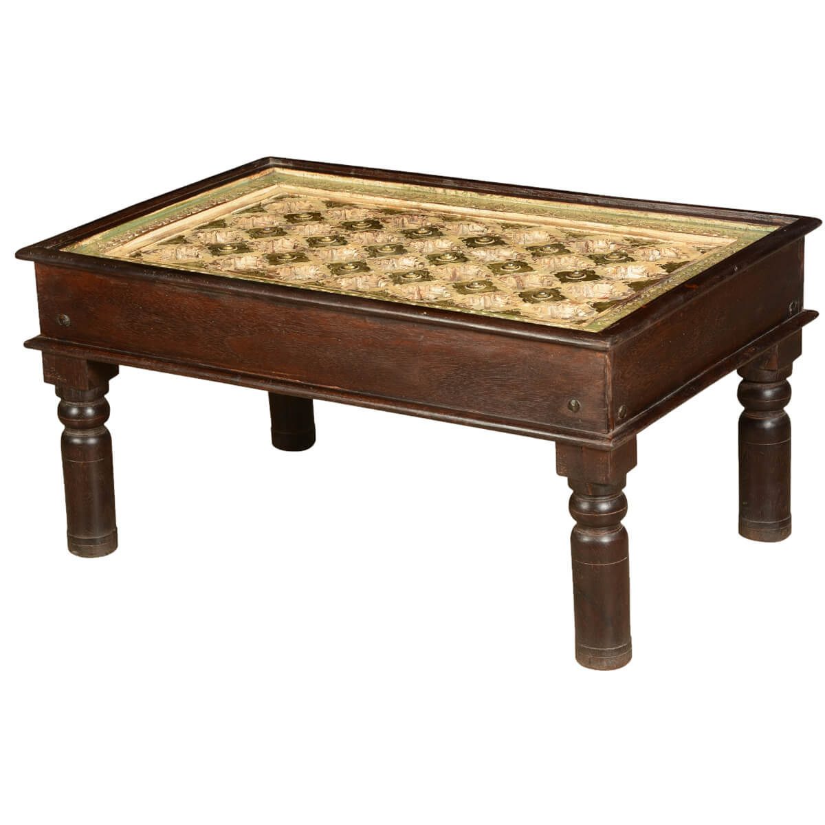 turkish diamonds mango wood 36 handcrafted coffee table