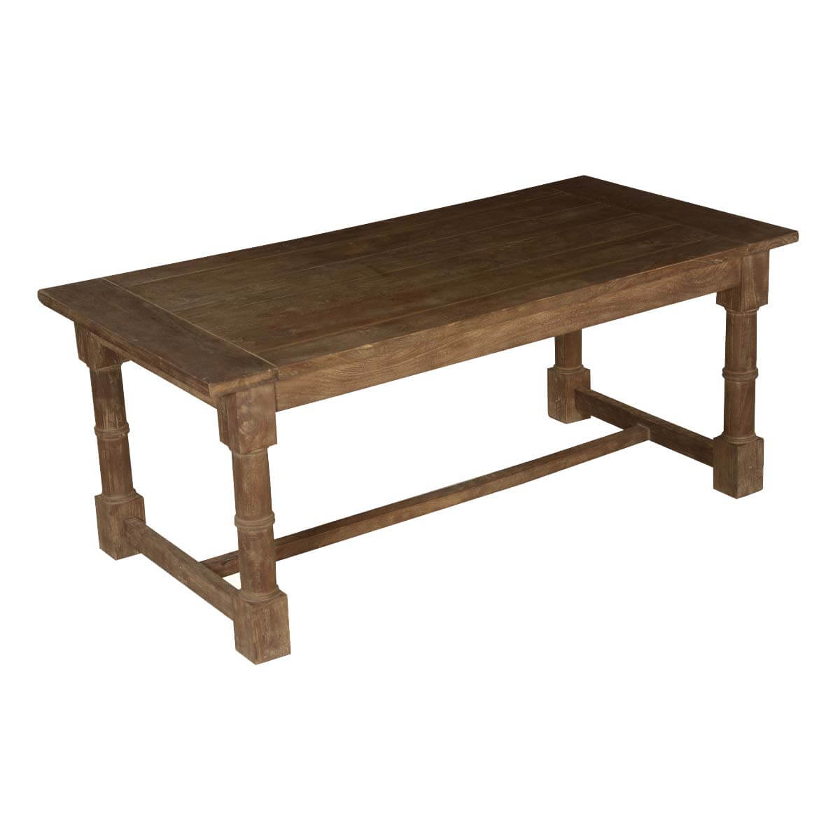 Nottingham Rustic Mango Wood Gothic 72 Dining Table