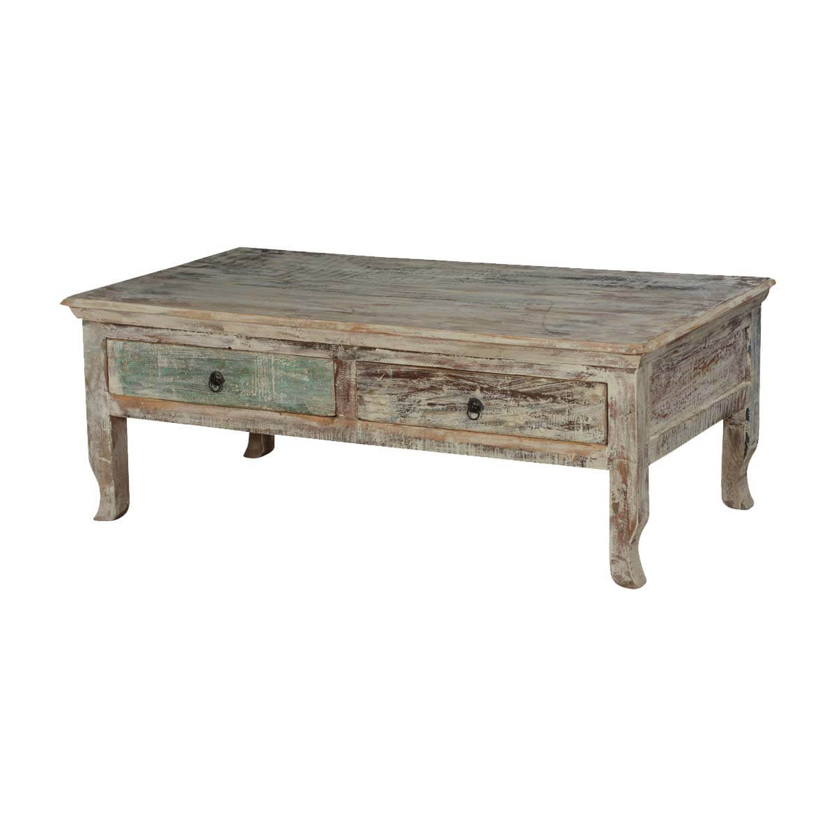 Superb img of Winter Storm Reclaimed Wood Coffee Table w 2 Drawers with #B28C19 color and 1200x1200 pixels