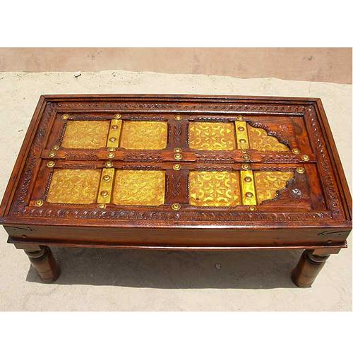 Antique Door Indian Rosewood Occasional Sofa Cocktail Coffee Table Furniture New Ebay