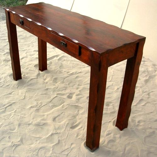 1a. Solid Wood Entry Sofa Buffet Hall Foyer Console Table