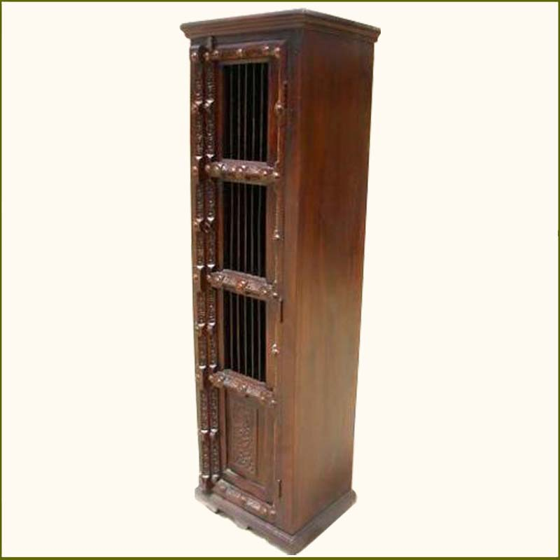 1L. Wood Unit Kitchen Corner Stand Storage Cabinet Shelf