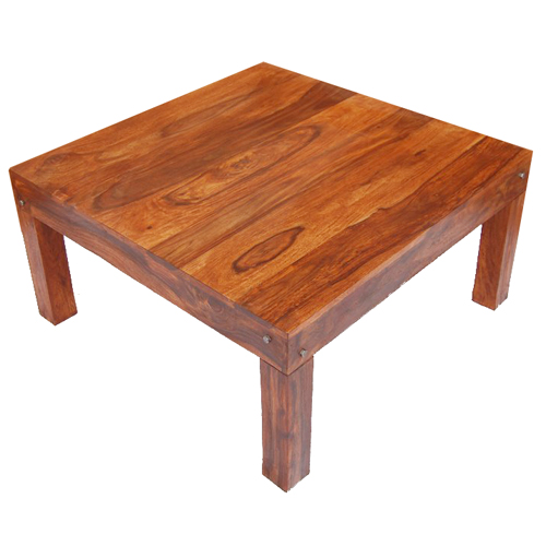 Solid Wood Handmade Contemporary Sofa Square Wood Coffee Cocktail Table New Ebay