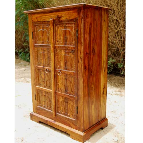 WOODEN STORAGE CABINETS WITH DOORS – Solid Wood Storage Cabinet