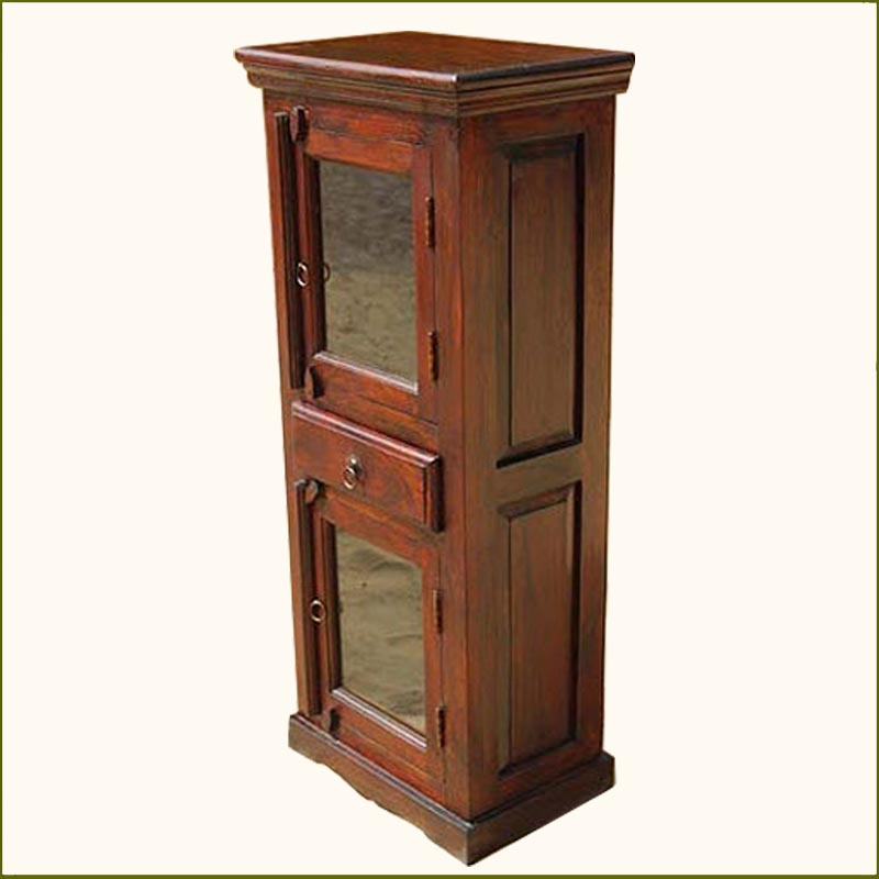 contemporary kitchen corner cabinet storage cupboard solid rosewood new