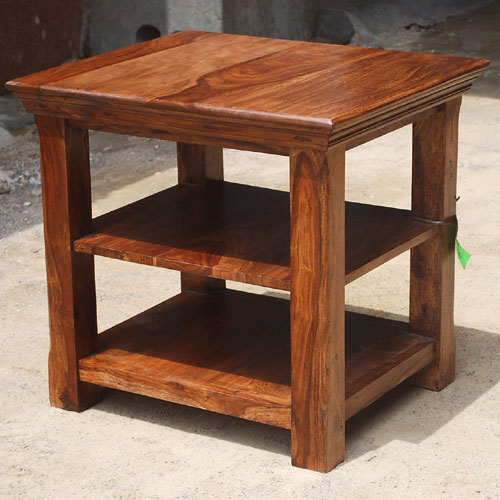 1I. Oklahoma Farmhouse Three Tier End Table