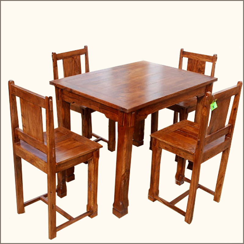 height 5pc pub dining room table 4 chairs set furniture new ebay