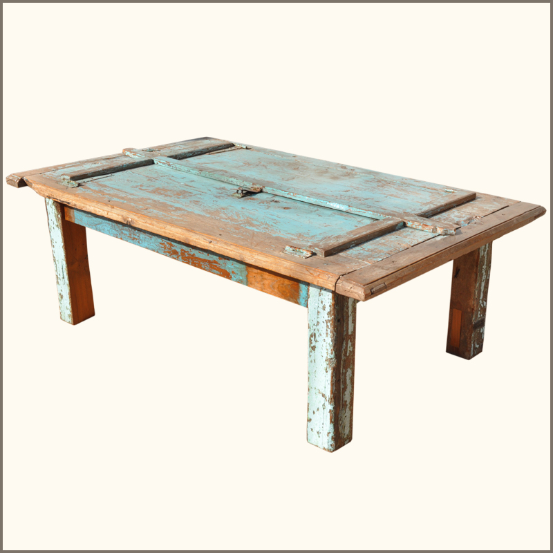 rustic antique distressed reclaimed teak wood large dining