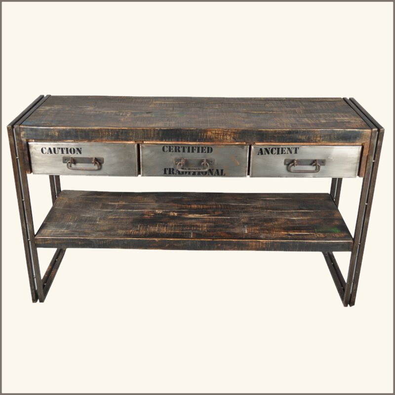 Reclaimed Wood Sofa Table | Apps Directories