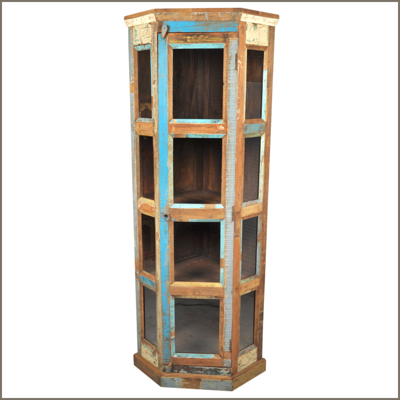 Rustic Display Cabinet Interior Frosted Glass Doors Wayfair Wood Display Cabinets With Glass