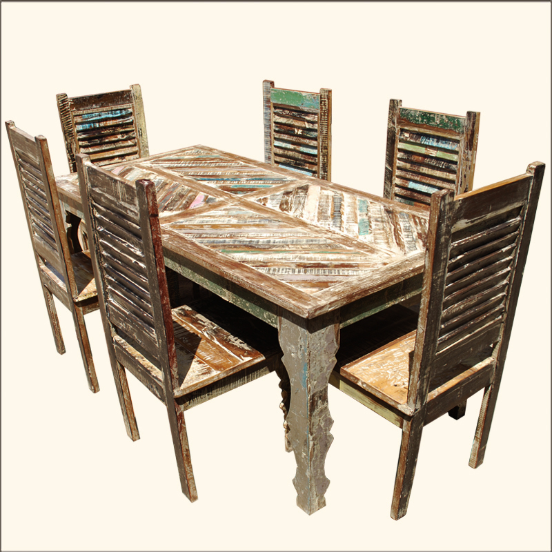 DINING SETS WITH ROLLING CHAIRS