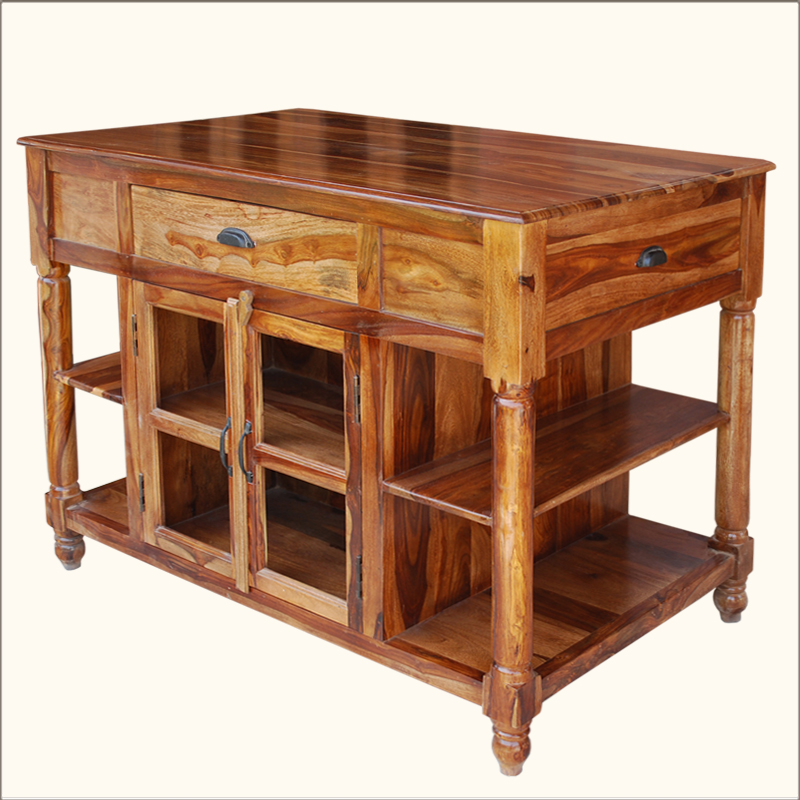Kitchen island table with storage for Table top kitchen cabinet