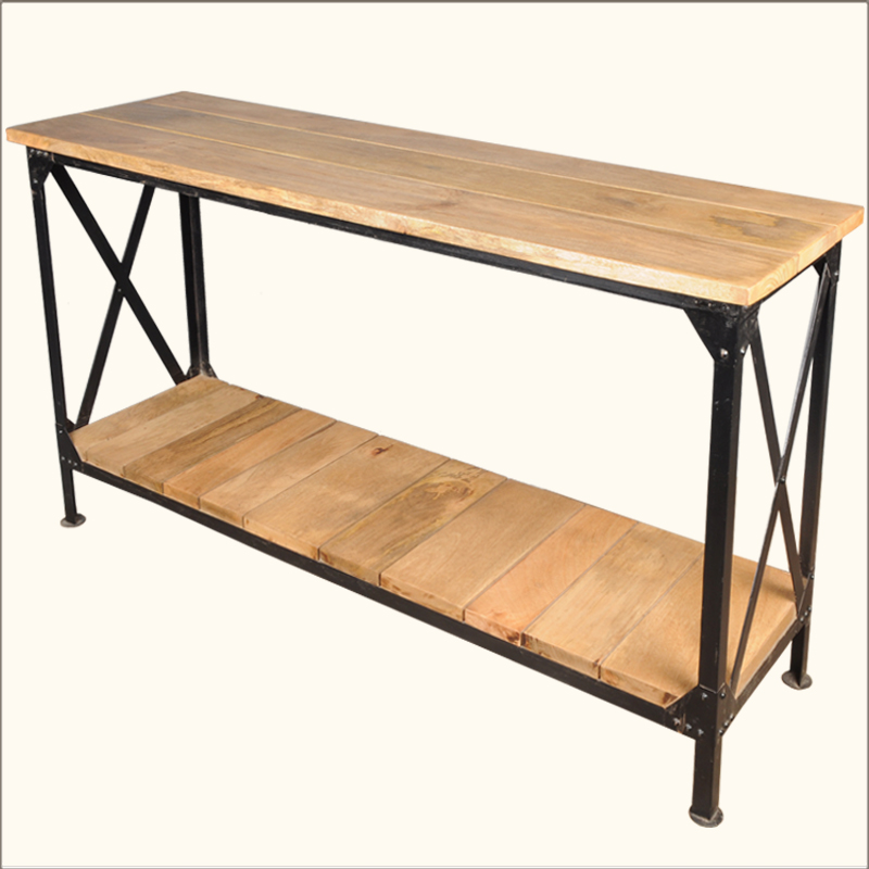 Metal Entry Table Iron Hall Table » Home Design 2017