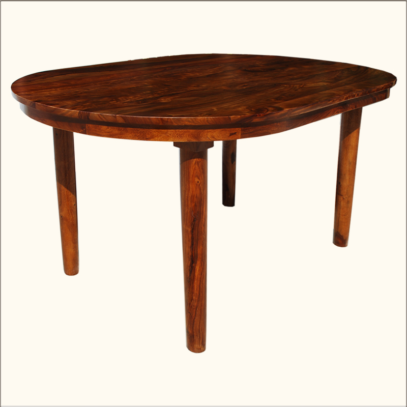 1G. Lincoln Study Oval Indian Rosewood Classic Dining Table
